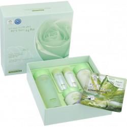 Набор для увлажнения лица с экстрактом муцина улитки 3W Clinic Snail Moist Control Skin Care 3 Set