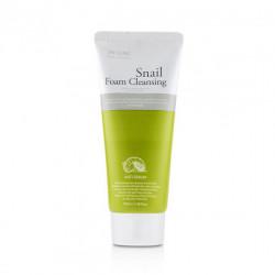 Очищающая пенка для лица с фильтратом улиточного муцина 3W Clinic Snail Foam Cleansing