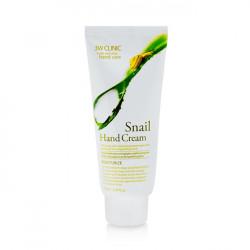 Увлажняющий крем для рук с экстрактом слизи улитки 3W Clinic Snail Hand Cream