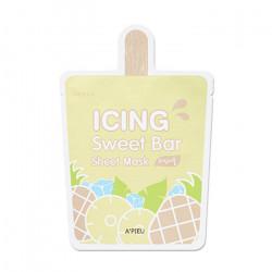 Тканевая маска для проблемной кожи лица с экстрактом ананаса A'pieu Icing Sweet Bar Sheet Mask Pineapple