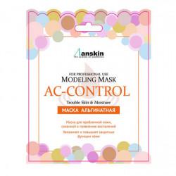 Альгинатная маска для проблемной кожи, склонной к появлению воспалений Anskin AC Control Modeling Mask