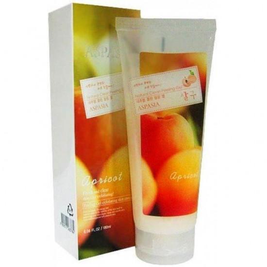Пилинг - скатка для лица с экстрактом абрикоса Aspasia Natural Clean Peeling Gel Apricot