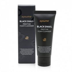 Пенка для умывания с муцином черной улитки Ayoume Black Snail Prestige Foam Cleanser