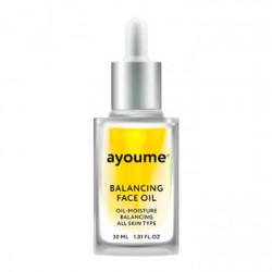 Восстанавливающее масло для лица с экстрактом подсолнуха Ayoume Balancing Face Oil With Sunflower