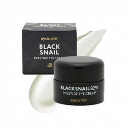 Крем для кожи вокруг глаз с муцином чёрной улитки Ayoume Black Snail Pestige Eye Cream