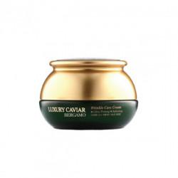 Антивозрастной крем с экстрактом черной икры Bergamo Luxury Caviar Wrinkle Care Cream