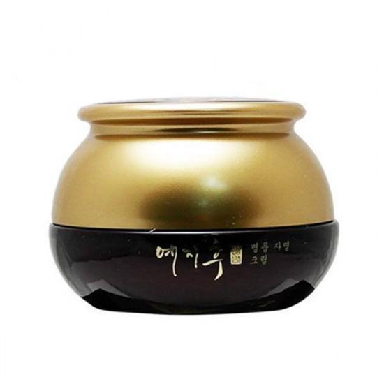 Антивозрастной крем с экстрактом красного женьшеня Bergamo Yezihu Red Ginseng Cream