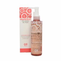 Гидрофильное масло-пенка для умывания с экстрактом грейпфрута Berrisom G9 Skin Grapefruit Vita Bubble Oil Foam