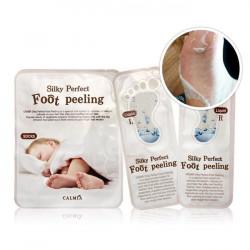 Пилинг носочки для идеального отшелушивания кожи ног Calmia Silky Perfect Foot Peeling