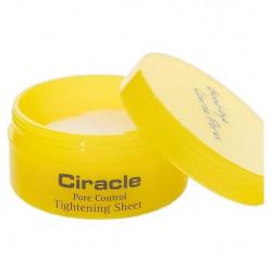 Салфетки для сужения пор на коже лица после процедуры очищения Ciracle Pore Control Tightening Sheet