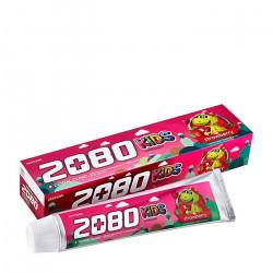 Детская зубная паста для укрепления эмали с клубничным вкусом Dental Clinic 2080 Kids Toothpaste Strawberry