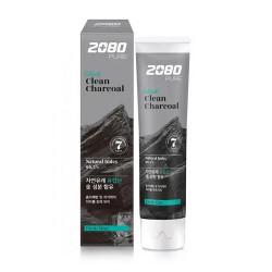 Отбеливающая зубная паста с древесным углём Dental Clinic 2080 Black Clean Charcoal Toothpaste