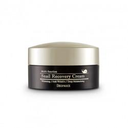 Восстанавливающий крем для лица с фильтратом слизи улитки Deoproce Snail Recovery Cream
