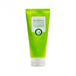 Увлажняющая пилинг-скатка для лица на основе зелёного чая Premium Deoproce Green Tea Peeling Vegetal