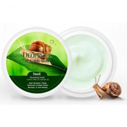 Крем для лица и тела с улиточным экстрактом Deoproce Natural Skin Snail Nourishing Cream