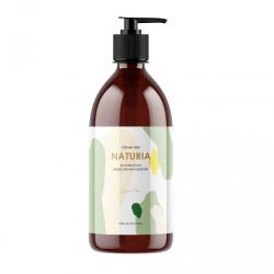 Мягкий очищающий гель для очищения и смягчения кожи тела с ароматом зелёного чая Evas Naturia Creamy Milk Body Wash Green Tea