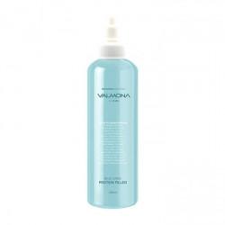 Маска-филлер для интенсивного увлажнения и восстановления волос с протеиновым комплексом Evas Valmona Blue Clinic Protein Filled