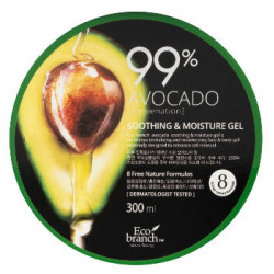 Успокаивающий гель для тела с авокадо 99 % Eco Branch Avocado Soothing & Moisture Gel