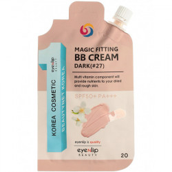 ББ - крем для лица с SPF50+ PA+++ №27 - тёмный беж Eyenlip BB крем Magic Fitting BB Cream SPF50+ PA+++