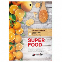 Увлажняющая тканевая маска для лица с экстрактом апельсина Eyenlip Super Food Mask Orange