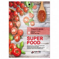 Увлажняющая тканевая маска для лица с экстрактом томата Eyenlip Super Food Mask Tomato