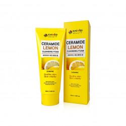 Пенка для умывания с экстрактом лимона Eyenlip Ceramide Lemon Cleansing Foam
