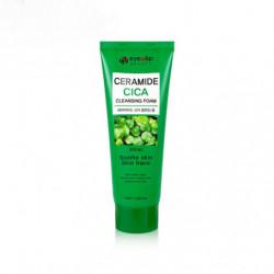 Пенка для умывания с керамидами и растительными экстрактами Eyenlip Ceramide Cica Cleansing Foam