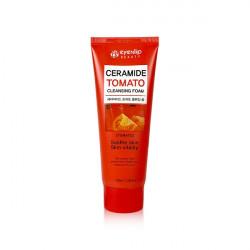 Пенка для умывания с экстрактом томата для выравнивания тона кожи Eyenlip Ceramide Tomato Cleansing Foam