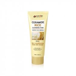 Пенка для умывания с экстрактом риса Eyenlip Ceramide Cleansing Foam Rice