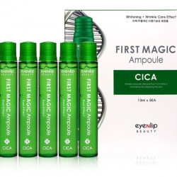 Своротка для лица с экстрактом центеллы азиатской Eyenlip First Magic Ampoule Cica