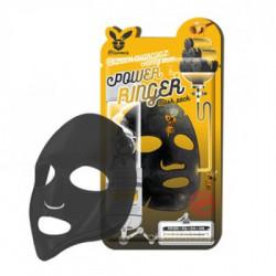 Очищающая тканевая маска для лица с древесным углем и медом Elizavecca Black Charcoal Honey Deep Power Ringer Mask Pack