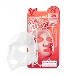 Омолаживающая тканевая маска для лица с коллагеном Elizavecca Collagen Deep Power Ringer Mask Pack
