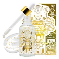 Увлажняющая эссенция для лица с частичками золота Elizavecca Milky Piggy Hell-Pore Gold Essence