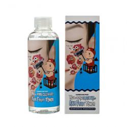 Универсальный пилинг-тонер для лица с фруктовыми кислотами Elizavecca Hell-Pore Clean Up AHA Fruit Toner