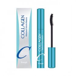Водостойкая удлиняющая тушь с коллагеном Enough Collagen Waterproof volume Mascara
