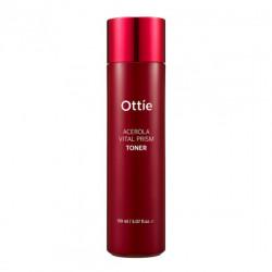 Антивозрастной премиальный витаминный тонер с экстрактом ацеролы Ottie Acerola Vital Prism Toner