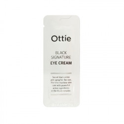 Антивозрастной премиальный крем для кожи вокруг глаз с муцином улитки 9пробник) Ottie Black Signature Eye Cream