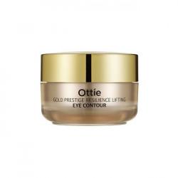 Увлажняющий премиальный крем для упругости кожи вокруг глаз Ottie Gold Prestige Resilience Lifting Eye Contour
