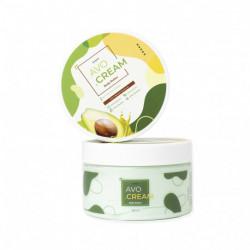 Крем для интенсивного питания кожи тела с экстрактом авокадо OhSkin AVO.Cream Body Butter