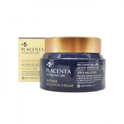 Омолаживающий восстанавливающий крем для лица с плацентой Enough Bonibelle Placenta Intense Solution Cream
