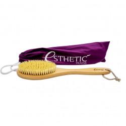 Дренажная щётка для сухого массажа из бука и натуральной щетины Esthetic House Dry Massage Brush