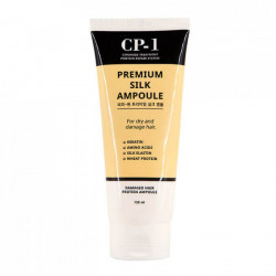 Несмываемая сыворотка для волос с протеинами шелка Esthetic House CP-1 Premium Silk Ampoule