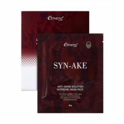 Гидрогелевая маска с ботокс-эффектом для разглаживания и уменьшения глубины морщин со змеиным пептидом Esthetic House Syn-Ake Anti-Aging Solution Hydrogel Mask Pack