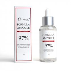 Восстанавливающая сыворотка для лица с ферментированными дрожжевыми грибами Esthetic House Formula Ampoule Galactomyces