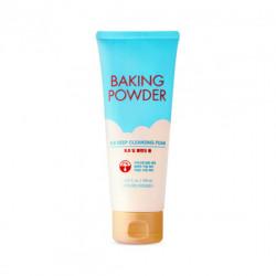 Глубоко очищающая пенка с содой для снятия макияжа и ВВ крема Etude House Baking Powder BB Deep Cleansing Foam