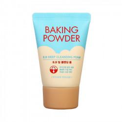 Глубоко очищающая пенка с содой для снятия макияжа и ВВ крема Etude House Baking Powder BB Deep Cleansing Foam Mini