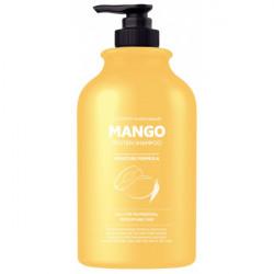 Шампунь для глубокого питания и увлажнения сухих и обезвоженных волос с маслом манго Evas Pedison Institut-Beaute Mango Rich Protein Hair Shampoo, 500 мл