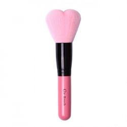 Оригинальная объемная кисть для сухих текстур Coringco Lovely Pink Heart Multi-Volume Brush