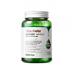 Восстанавливающая сыворотка с экстрактом центеллы азиатской Farm Stay Cica Farm Recovery Ampoule