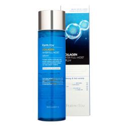 Коллагеновая сыворотка для увлажнения сухой кожи лица FarmStay Collagen Water Full Moist Serum
